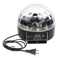 🔥✅ Светомузыка диско шар c Bluetooth Magic Ball Music XXB 01/M6 + BT MP3 плеер
