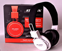 Беспроводные наушники с MP3 плеером и FM Atlanfa AT-7607
