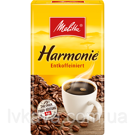 Кофе молотый Melitta Harmonie без кофеина,  500 г, фото 2