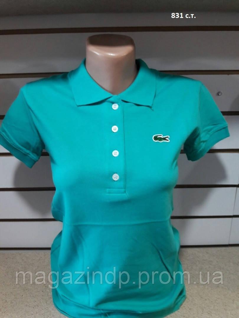 Женская футболка Поло 831 с.т. Код:942210984
