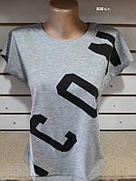 Женская футболка свободная 836 с.т. Код:942329319, фото 1