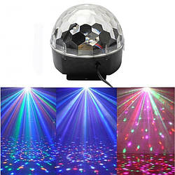 Светомузыка диско шар Magic Ball Music Super Light MP-2