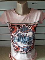 Женская футболка Орнамент 848 с.т. Код:942516061, фото 1