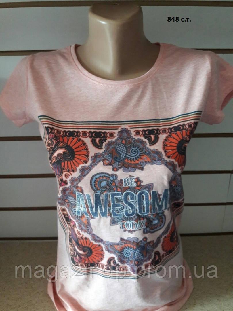 Женская футболка Орнамент 848 с.т. Код:942516061