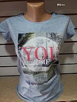 Летняя женская футболка YOU 851 с.т. Код:942571760, фото 1