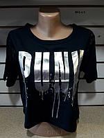 Женская короткая футболка 841 с.т. Код:942413523