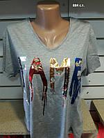 Женская футболка 884 с.т. Код:944086907
