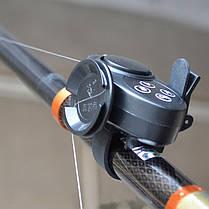 ZANLUREЧерныйЧувствительныйРыбалкаТревожныйукус с музыкой Море Рыбалка Оповещение о тревоге Рыбалка Род - 1TopShop, фото 3