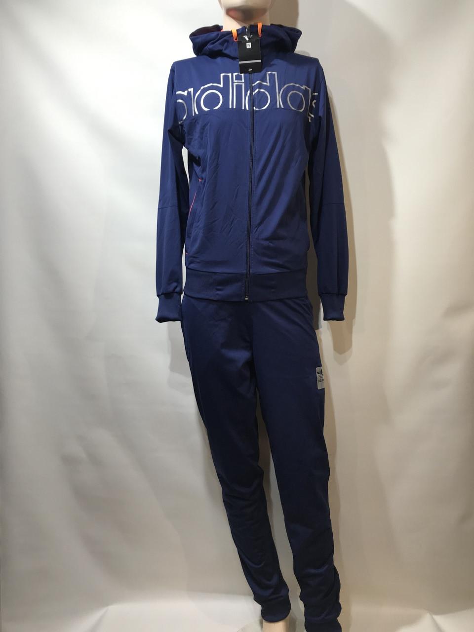 Мужской спортивный костюм Adidas реплика адидас синий