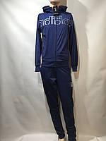 Мужской спортивный костюм Adidas реплика адидас синий, фото 1