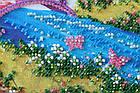 Набор-миди для вышивки бисером Мостик в весну (20 х 20 см) Абрис Арт AMB-023, фото 2