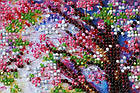 Набор-миди для вышивки бисером Мостик в весну (20 х 20 см) Абрис Арт AMB-023, фото 3