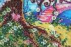 Набор-миди для вышивки бисером Мостик в весну (20 х 20 см) Абрис Арт AMB-023, фото 4