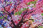 Набор-миди для вышивки бисером Мостик в весну (20 х 20 см) Абрис Арт AMB-023, фото 5