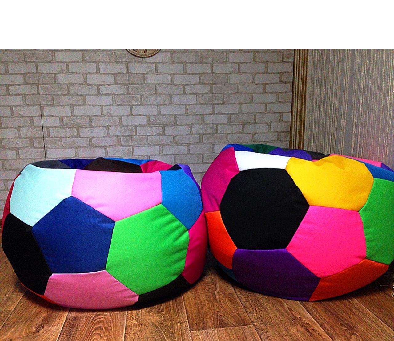 Кресло мешок, бескаркасное кресло МЯЧ, мягкий пуфик, бескаркасная мебель, мебель Лофт, Loft  пуф 1 м