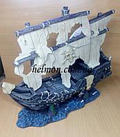 """Декорация """"Пиратский корабль"""" Minjiang , 36x14x32.5 см"""