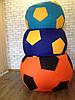 Кресло мешок, бескаркасное кресло МЯЧ, мягкий пуфик, бескаркасная мебель, мебель Лофт, Loft  пуф 1 м, фото 8