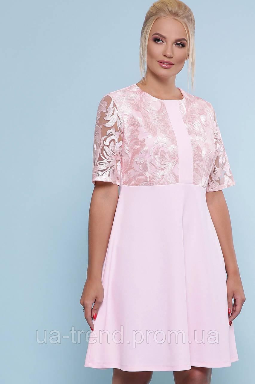 Женское нарядное платье большие размеры
