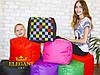 Мягкий ПУФ кресло мешок бескаркасный Пуф Мягкий Пуф детский ткань оксфорд, фото 2