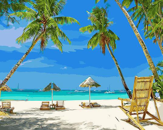 Картина по Номерам 40x50 см. Рай на земле, фото 2