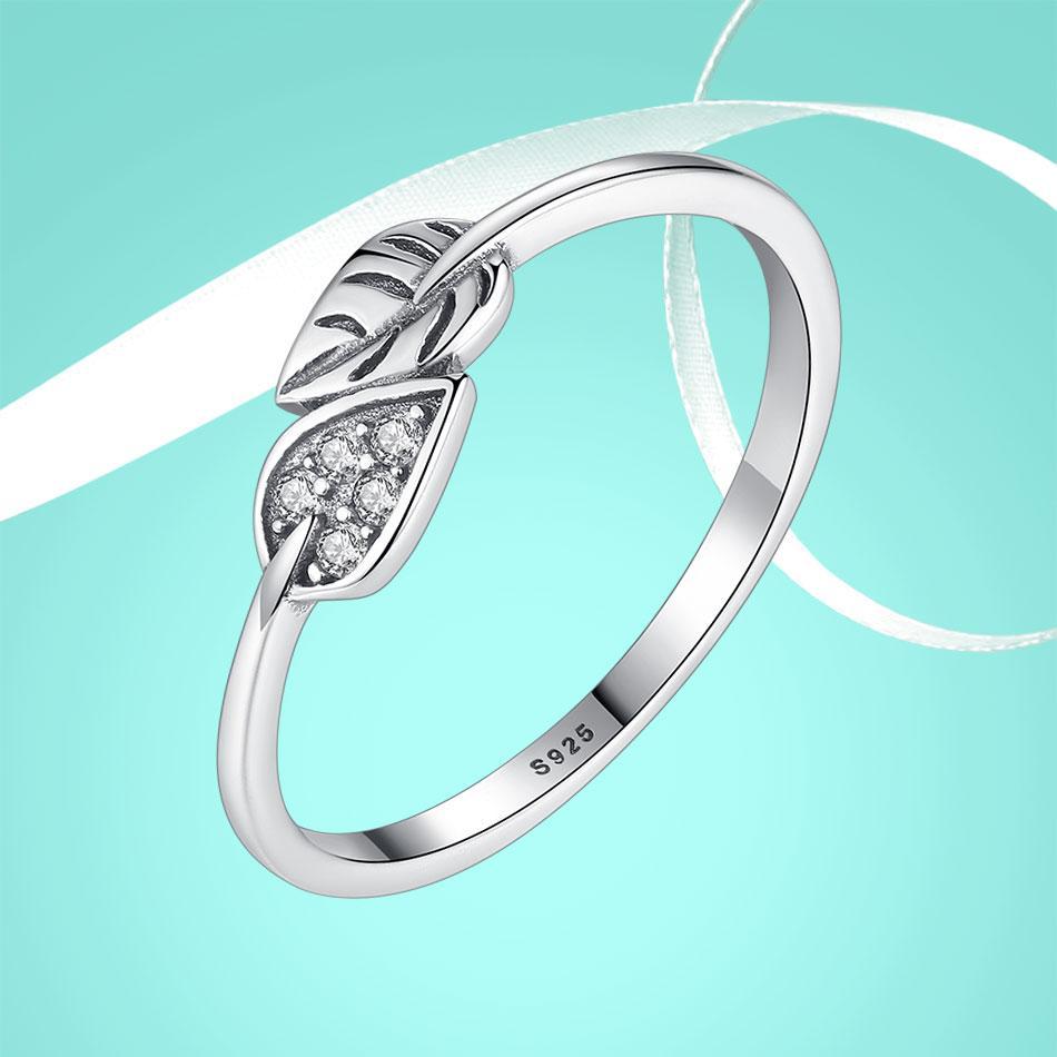 """Кольцо из серебра 925 пробы с цирконием (фианитом) """"Silver Leaf"""", диаметр 18,2 mm., фото 1"""