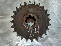 Звездочка Z-24 (ш.25,4, двойная) ПРТ-10, ПРТ-7