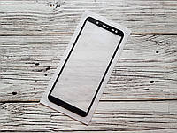 Защитное стекло Full Glue для Samsung Galaxy J6 2018 / J600F Черное