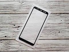 Захисне скло Full Glue для Samsung Galaxy J6 2018 / J600F Чорне