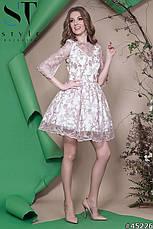 Женское платье из итальянское кружева , фото 3