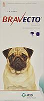 Бравекто (Bravecto®)  Жевательная таблетка для защиты собак от клещей и блох 4.5-10 кг