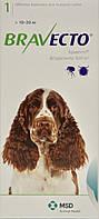 Бравекто (Bravecto®)  Жевательная таблетка для защиты собак от клещей и блох 10-20кг