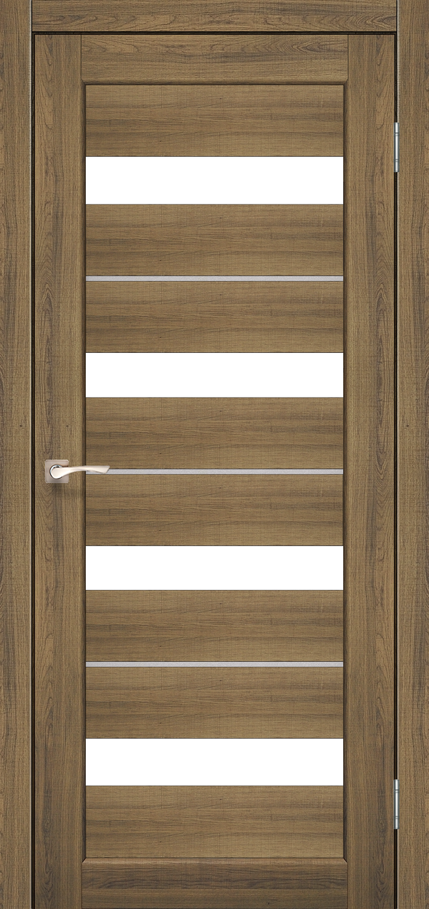 Двери KORFAD PD-02 Полотно+коробка+1 к-кт наличников, эко-шпон