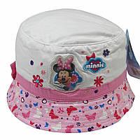 Легкая панама для девочки Минни Маус Disney; 52 см.
