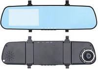 Зеркало заднего вида/Видеорегистратор с 2 камерами Full HD 1080/GPS навигатор/Парковочная камера заднего вида/