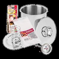 Ветчинница BIOWIN 3,0 кг + термометр+набор пакетов+травы для ветчины Секрет Дедушки Феликса, фото 1