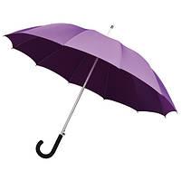 Зонт-трость автомат 12 спиц стекловолокно сиреневый Impliva(Голландия)GA320.814C