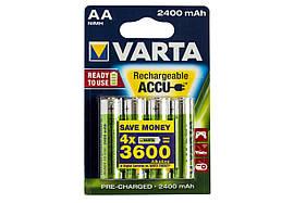 Аккумулятор Varta AA 2400mAh NiMh (4 шт.) Rechargeable Accu