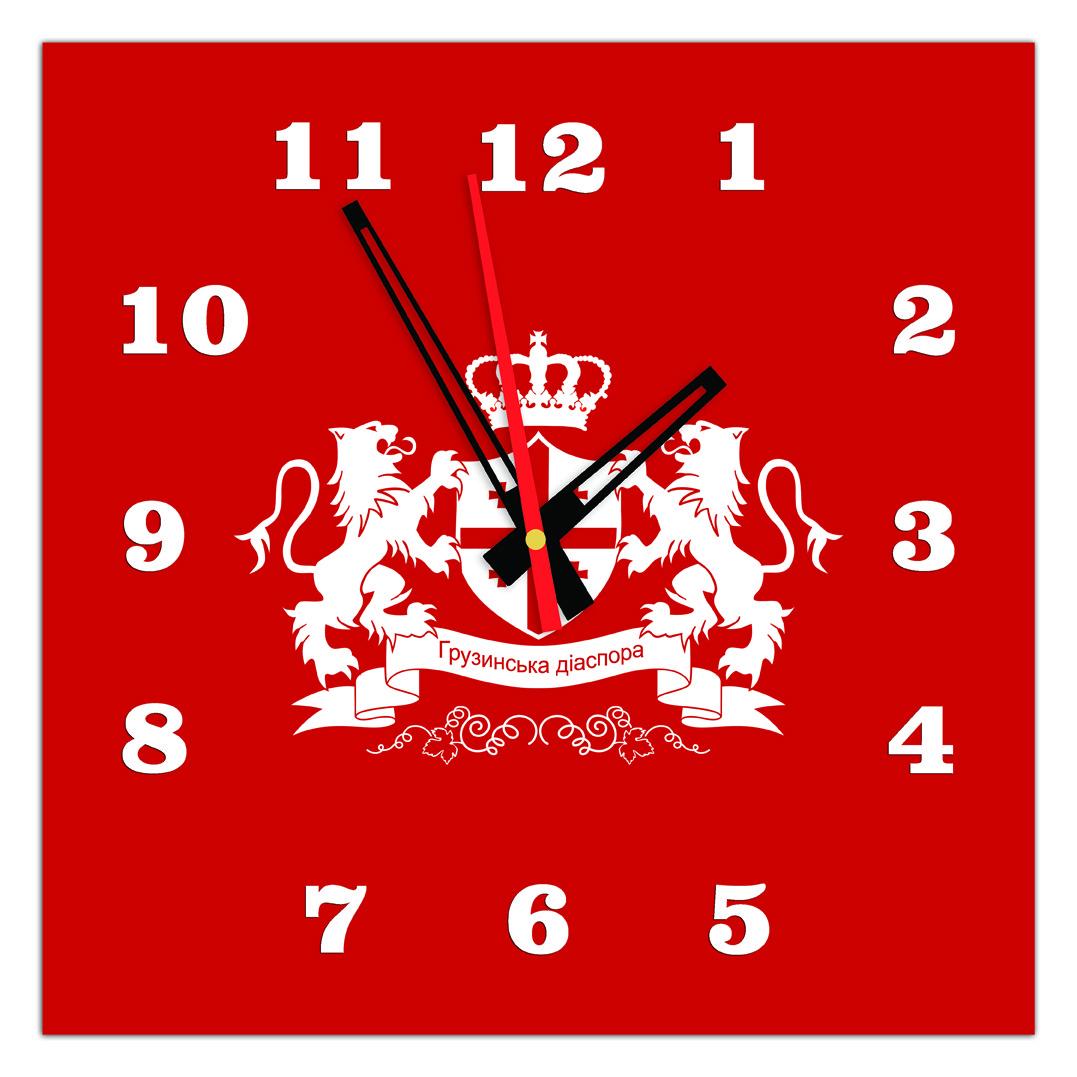 Часы настенные стеклянные Т-Ок 011 S-3503