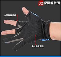 Рукавички рибальські/ рукавички для риболовлі