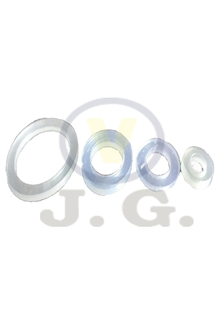 Прокладка силикон 1/2 (ПВХ,100шт)