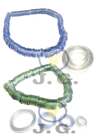Прокладка силикон 1/2 (ПВХ,100шт), фото 2