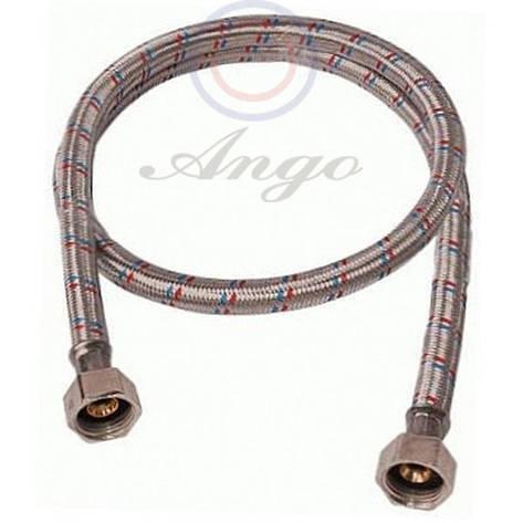Шланг в нержавеющей оплетке  ANGO 1/2 20см ВВ, фото 2