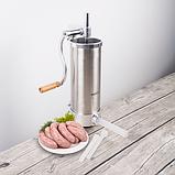 Шприц для набивки колбас 3 кг, Biowin, фото 3