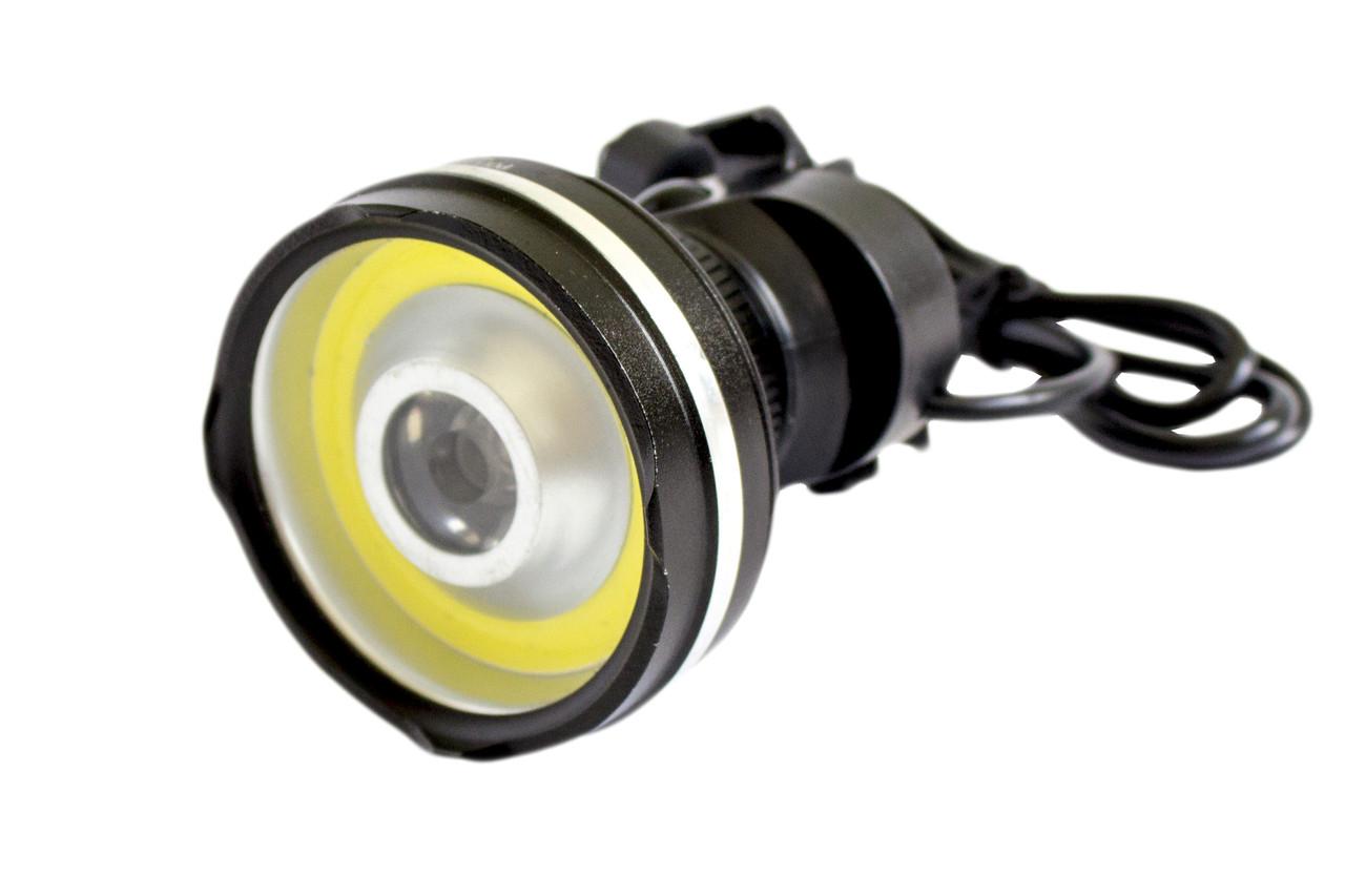 Велофара-фонарик BL-B031-COB+LM 320000W