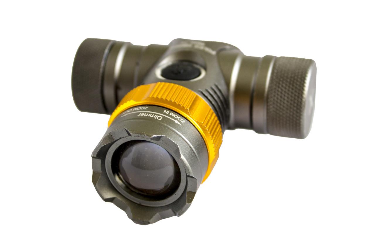 Налобный велофонарик BL-Н820-Т6+светофильтры