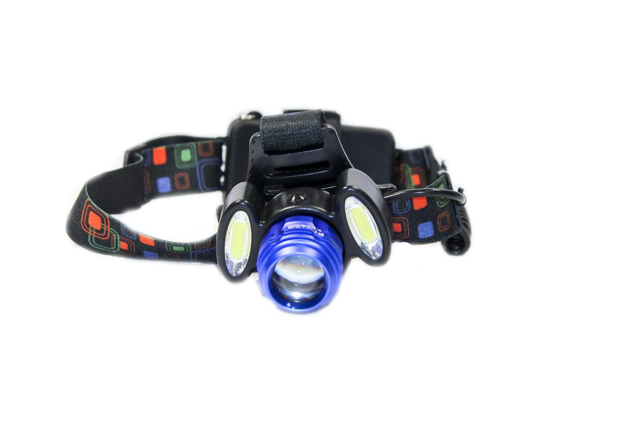 Налобный фонарик BL-2117-Т6+2СОВ