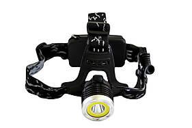 Налобный фонарик BL-2150-Т6+СОВ
