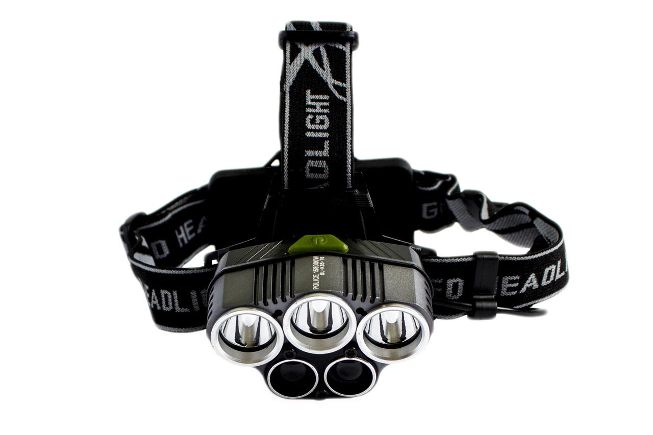 Налобный фонарик BL-К85-T6 158000W
