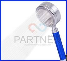 Лейка душа алюминий разборная с фильтром, цвет ручки золото, фото 2