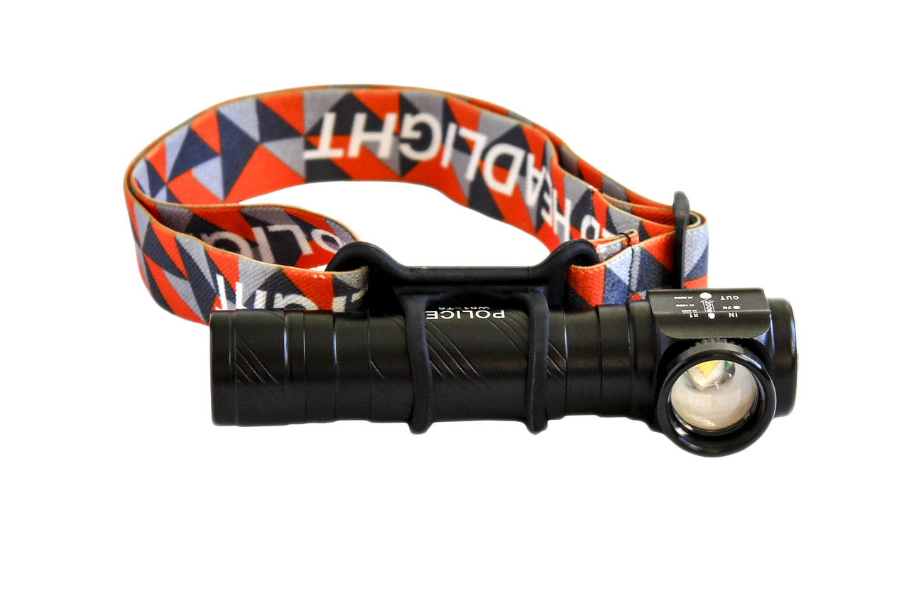 Налобный/ручной фонарик W01-T6 USB (2 в 1)